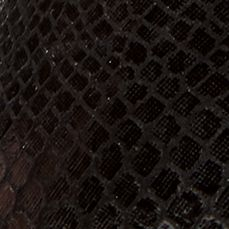 Orthaheel: Black Snake Orthaheel Caballo Flat