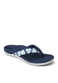 Vionic with Orthaheel Technology Tide Sequins Flip Flop Sandal