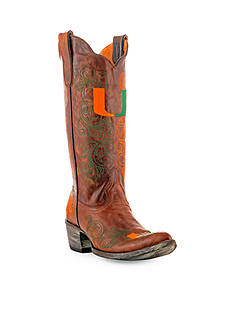 Gameday Boots University Of Miami Tall Boot