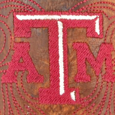 Mid Calf Boots: Brass Gameday Boots Texas A&M University Mid Boot