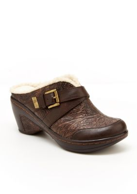 JBU Sweden Clog Wedge Heel