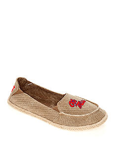 Campus Cruzerz Ole Miss Canvas Collegiate Flat
