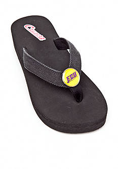 Campus Cruzerz East Carolina Pirates Venice Beach Flip Flop