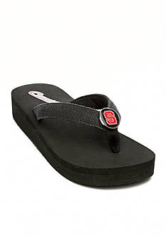 Campus Cruzerz North Carolina State Wolfpack Venice Beach Flip Flop