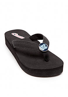 Campus Cruzerz North Carolina Tarheels Venice Beach Flip Flop
