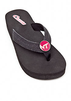 Campus Cruzerz Virginia Tech Hokies Venice Beach Flip Flop