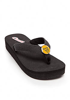 Campus Cruzerz West Virginia Mountaineers Venice Beach Flip Flop