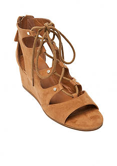 indigo rd. Shane Lace-Up Wedge Sandals