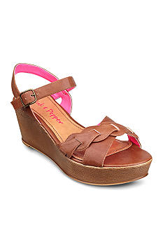 Pink & Pepper Circuit Wedge Sandal