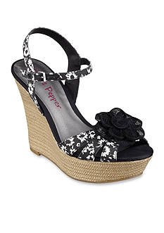 Women S Black Wedge Shoes Belk Everyday Free Shipping