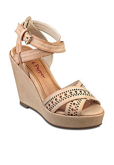 Pink & Pepper Fiora Wedge Sandal