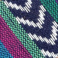Flat Sandals for Women: Blue Multi Pink & Pepper Noah Sandal