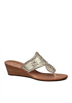 Jack Rogers Jacks Stacked Mid Wedge