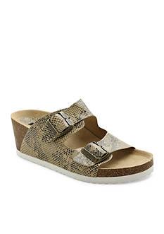 Kensie Wenda Wedge Sandal