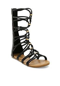 XOXO Gizella Gladiator Flat Sandal
