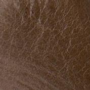 Naughty Monkey: Khaki Naughty Monkey Plush Patra Faux Wood Heel Sandals
