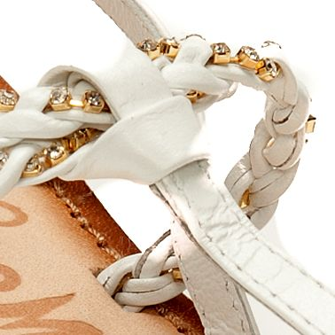 Flat Sandals for Women: White Naughty Monkey Fresh Fry Sandal