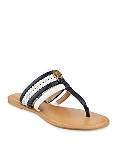 Tommy Hilfiger Lady Woven Flat Sandal
