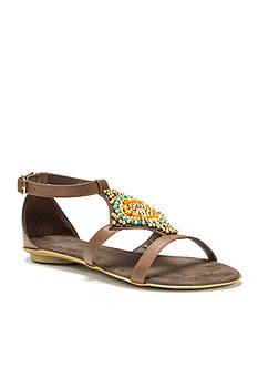 MUK LUKS Lisa Beaded Sandal