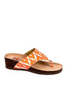 Muk Luks Cara Wedge Sandal