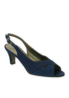David Tate Palm Slingback Sandal - Available in Extended Sizes - Online Only