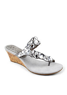 New York Transit Great Cover Wedge Sandal