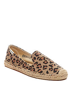 SOLUDOS Leopard Smoking Slipper