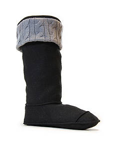 CHOOKA Cable Knit Fleece Cuff Boot Liner