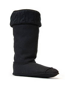 CHOOKA Cable Knit Cuff Fleece Boot Liner