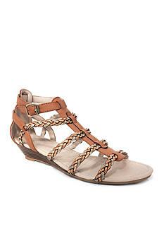 Groove Footwear Rita Low Wedge Sandal