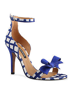 Kay Unger New York Baroque Stiletto Ankle Strap Sandal