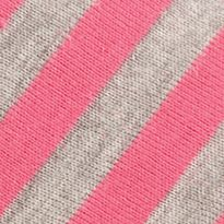House Shoes: Pink Stripe Acorn Summerweight Moc