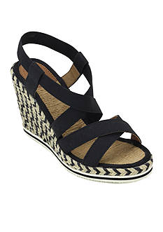 Joy & Mario Tide Stacked Wedge Sandal