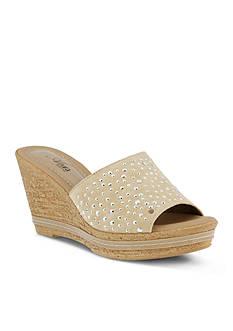Azura Listen Wedge Sandal