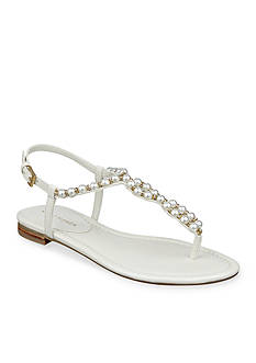Marc Fisher Fiesty Pearl Flat Sandal