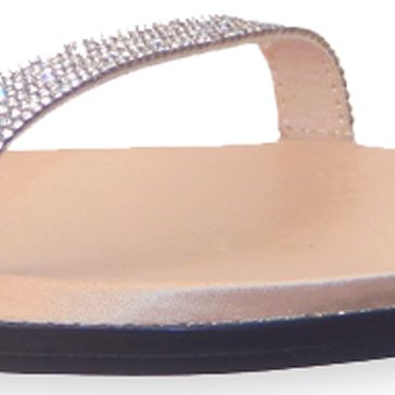 Flat Sandals for Women: Gold Vis-a-Vis Vern Sandal