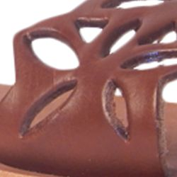 Flat Sandals for Women: Tan Rebels Levi Sandal
