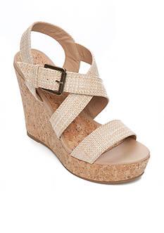 Sugar Hanna Cork Wedge Sandal