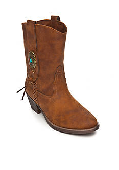 Sugar Temple Western Boot