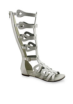 C. Label David Mid-Calf Gladiator Sandal