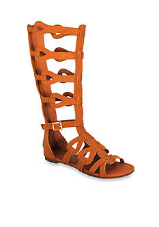 C. Label David Mid-Calf Gladiator Sandal