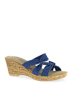 TUSCANY by easy street Lauria Wedge Sandal