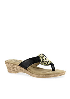 TUSCANY by easy street Rossano Wedge Sandal