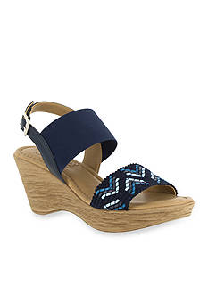 TUSCANY by easy street San Remo Wedge Sandal