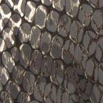 Womens Slides: Gray Snake Easy Street Joelle Comfort Sandal