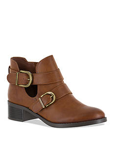 Easy Street Shoes Badge Bootie