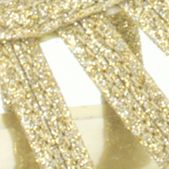 Peep Toe Pumps: Gold Glitter/Black Suede Easy Street Sparkle Evening Shoe
