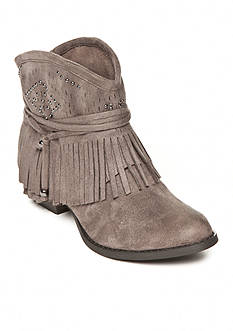not rated Fancy Free Fringe Booties