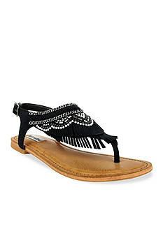 not rated Zion Double Layer Fringe Sandal