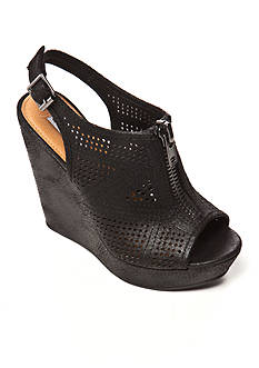 not rated Forrest Perforated Wedge Sandal